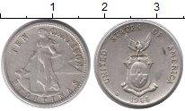 Изображение Монеты Азия Филиппины 10 сентаво 1944 Серебро XF