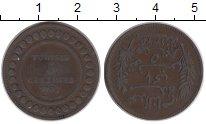Изображение Монеты Африка Тунис 5 сантим 1907 Бронза VF