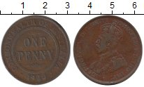 Изображение Монеты Австралия 1 пенни 1922 Бронза XF-