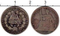 Изображение Монеты Индокитай 10 сантим 1925 Серебро VF
