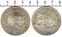 Изображение Монеты Португалия 1000 эскудо 1995 Серебро UNC-