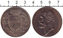 Изображение Монеты Европа Лихтенштейн 5 крон 1910 Серебро XF