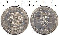 Изображение Монеты Мексика 25 песо 1968 Серебро UNC-