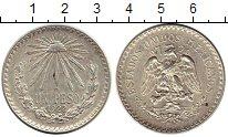 Изображение Монеты Северная Америка Мексика 1 песо 1922 Серебро XF+