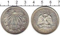 Изображение Монеты Северная Америка Мексика 1 песо 1940 Серебро XF+