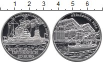 Изображение Монеты Австрия 20 евро 2005 Серебро Proof
