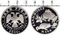 Изображение Монеты СНГ Россия 1 рубль 2004 Серебро Proof-