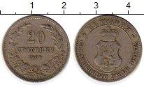 Изображение Монеты Европа Болгария 20 стотинок 1906 Медно-никель XF