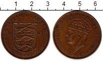 Изображение Монеты Остров Джерси 1/12 шиллинга 1937 Бронза XF