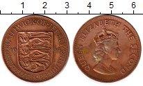 Изображение Монеты Великобритания Остров Джерси 1/12 шиллинга 1964 Бронза XF