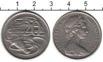Изображение Монеты Австралия 20 центов 1981 Медно-никель XF