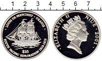 Изображение Монеты Новая Зеландия Ниуэ 10 долларов 2001 Серебро Proof