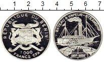 Изображение Монеты Бенин 1000 франков 2000 Серебро Proof