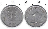 Изображение Монеты ГДР 1 пфенниг 1948 Алюминий XF А