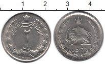 Изображение Монеты Иран 2 риала 1964 Медно-никель XF