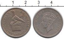 Изображение Монеты Великобритания Родезия 1 шиллинг 1949 Медно-никель XF-