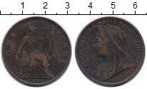 Изображение Монеты Великобритания 1 пенни 1899 Бронза VF