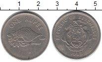 Изображение Монеты Сейшелы 1 рупия 1982 Медно-никель XF