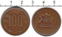 Изображение Монеты Южная Америка Чили 100 песо 1985 Бронза XF