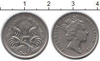 Изображение Монеты Австралия и Океания Австралия 5 центов 1988 Медно-никель XF