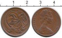 Изображение Монеты Австралия 2 цента 1971 Бронза XF