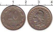 Изображение Монеты Аргентина 10 сентаво 1937 Медно-никель XF