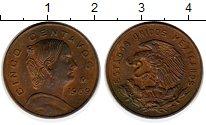 Изображение Монеты Северная Америка Мексика 5 сентаво 1969 Латунь XF