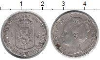 Изображение Монеты Европа Нидерланды 1/2 гульдена 1907 Серебро XF