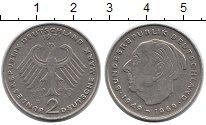 Изображение Монеты Германия ФРГ 2 марки 1971 Медно-никель XF