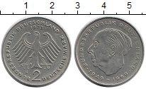 Изображение Монеты Германия ФРГ 2 марки 1973 Медно-никель XF