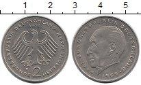 Изображение Монеты ФРГ 2 марки 1971 Медно-никель XF