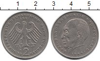 Изображение Монеты Германия ФРГ 2 марки 1981 Медно-никель XF