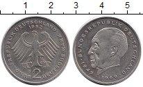 Изображение Монеты ФРГ 2 марки 1982 Медно-никель UNC-