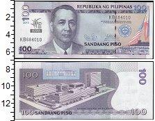 Изображение Банкноты Филиппины 100 писо 2013  UNC-