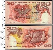 Изображение Банкноты Австралия и Океания Папуа-Новая Гвинея 20 кин 1998  UNC