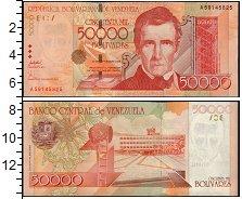 Изображение Банкноты Южная Америка Венесуэла 50000 боливаров 2006  UNC