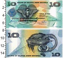 Изображение Банкноты Папуа-Новая Гвинея 10 кин 1998  UNC