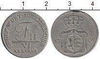Изображение Монеты Германия Вюртемберг 6 крейцеров 1804 Серебро XF