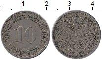 Изображение Монеты Германия 10 пфеннигов 1910 Медно-никель XF