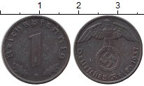 Изображение Монеты Третий Рейх 1 пфенниг 1937 Бронза XF