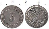 Изображение Монеты Германия 5 пфеннигов 1915 Медно-никель XF+ D