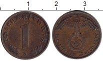 Изображение Монеты Третий Рейх 1 пфенниг 1937 Бронза XF G