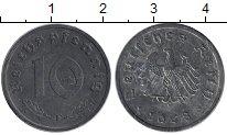 Изображение Монеты ФРГ 10 пфеннигов 1948 Цинк XF