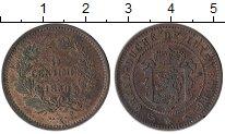 Изображение Монеты Европа Люксембург 5 сантим 1860 Медь XF-
