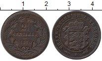 Изображение Монеты Люксембург 2 1/2 сантима 1870 Медь XF
