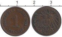 Изображение Монеты Германия 1 пфенниг 1911 Медь XF G