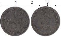 Изображение Монеты Германия Шварцбург-Рудольфштадт 1 грош 1841 Серебро XF-