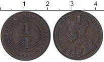 Изображение Монеты Азия Кипр 1/4 пиастра 1926 Бронза XF