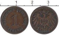 Изображение Монеты Германия 1 пфенниг 1911 Медь XF