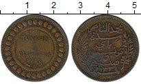 Изображение Монеты Тунис 5 сантим 1917 Бронза VF